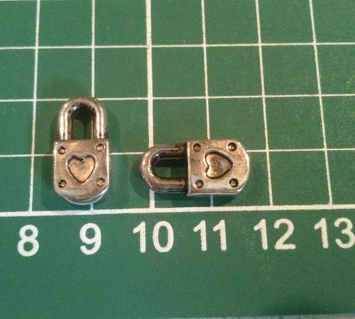 acryl slot  0.10 per stuk